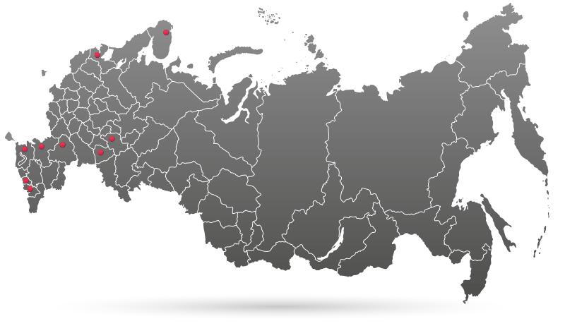 Дилеры профкосметики Histolab в регионах РФ