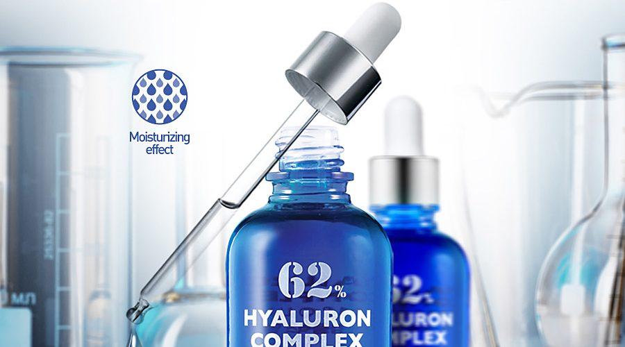 Концентрат с гиалуроновой кислотой Hyaluron Complex Ampoule 62