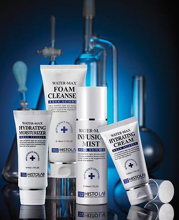 Линия для защиты и увлажнения кожи лица Histolab Aqua Science