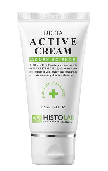 Крем антибактериальный для проблемной кожи Histolab Delta Active Cream 50/500 мл