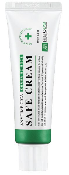 "<span style=""color: red; font-weight: bold;"">Новинка!</span> Крем успокаивающий ANYTIME CICA SAFE CREAM 50/250г"